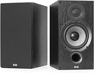 ELAC Debut 2.0 B6.2 书架扬声器,黑色(一对)