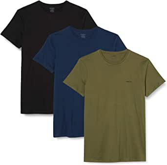 Diesel Herren Unterhemd UMTEE-JAKETHREEPACK (3er Pack)