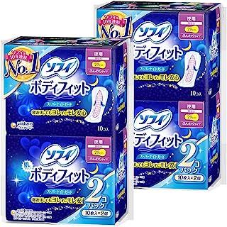 【量贩装】SOFY 身体贴 夜用 无护翼 29cm 10片×4包 (unicharm Sofy)