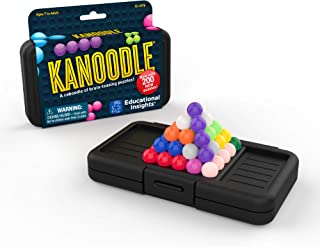 Educational Insights Kanoodle | 面向儿童和成人的3D拼图游戏| 拥有200个脑力游戏