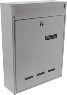 Burg-Wächter 设备信箱 A4 投信格式 镀锌钢 科隆 872 W 白色