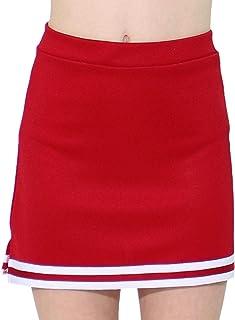 Danzcue A 字型拉拉队儿童制服裙