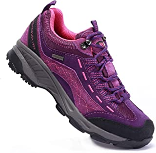 TFO 女式徒步鞋防滑透气运动鞋,适合户外散步徒步旅行