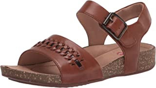 Clarks 其乐 女式 Un Perri Way 平底凉鞋