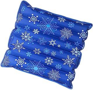 充水冰垫椅垫,冷却垫,水冷坐垫,宠物靠垫,夏季冰垫,冰垫,海滩靠垫,汽车靠垫,办公靠垫 (18x18英寸)