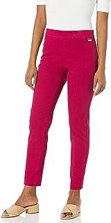 Calvin Klein 女士套穿斜纹弹力裤