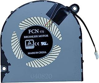 Rangale 替换 GPU 散热风扇 适用于 Acer 宏碁 Nitro 5 AN517-51 AN517-51-56YW AN517-51-75VU 系列笔记本电脑 FL1K DFS561405PL0T (GPU 风扇)