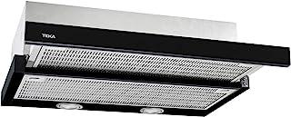Teka CNL 6415 半内置(拉出)厨师帽黑色 385 m3/h A – 抽油烟机 (385 m3/h,循环,D,57 dB 64 dB,半内置(拉出)Cooker Hood)