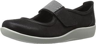 Clarks 女士 Sillian Cala 背带式平底女鞋