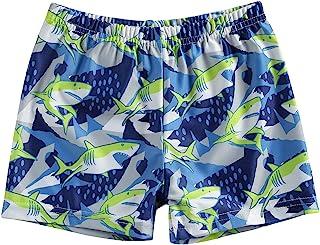 幼儿男婴游泳卡车短裤泳衣泳装沙滩装运动跑步冲浪短裤