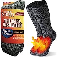 保暖袜,三街中性款冬季毛皮衬里靴厚保暖袜,适合寒冷天气