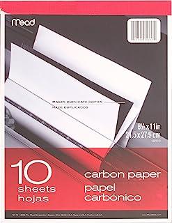 复写纸平板电脑,8–1/ 2quot ; X 11quot ;,黑色碳 黑色 每个