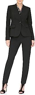DKNY 女士无领单扣夹克