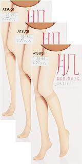 ATSUGI 厚木 连裤袜 ASTIGU 【肌】素肌感 连裤丝袜 3双套装 FS3530