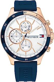 Tommy Hilfiger 汤米·希尔费格 – 银行手表,蓝色