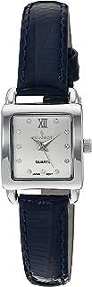 Peugeot 女士14K镀金方形小表盘手表,正装手表