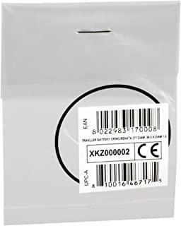 Cressi 科越思 中性款旅行用电池充电雷纳塔 371 直径36.0 X 直径1.0 O 形环外壳,黑色 Ø36.0 X Ø1.0