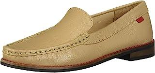 MARC JOSEPH 纽约儿童男孩/女孩皮革百叶草方形威尼斯乐福鞋