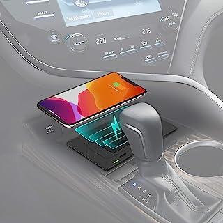 CarQi无线充电器 适用于丰田凯美瑞配件 2021 2020 2019 2018 OEM 风格无线手机充电板 适用于丰田 凯美瑞 XSE TRD LE XLE 汽车内饰配件*