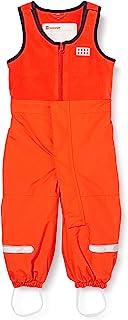 LEGO Wear 中性儿童滑雪裤,肩部开口处魔术贴封口