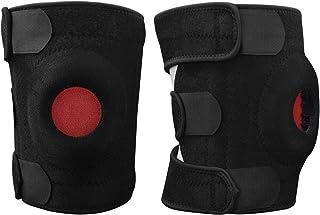 Sportout 2 件装护膝支撑,弹簧护膝带可调节带和透气面料,非常适合半月板撕裂、ACL、拉伤、膝盖*、受伤恢复、*、男女适用