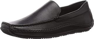 Nature Luste 软皮平底鞋 驾车风格莫卡辛鞋 女士 N135 黑色 22.0 cm
