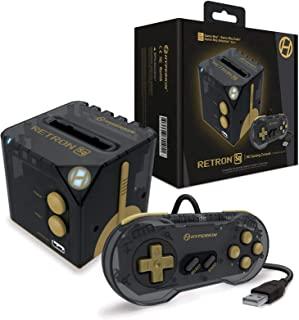 【懐かしいゲームボーイを大画面でプレイ】Hyperkin RetroN Sq: HD Gaming Console (カラー:ブラック・ゴールド/BlackGold) For Game Boy®/Game Boy Color®/Game Boy...