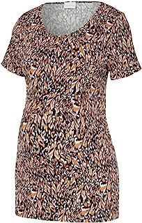 MAMALICIOUS 女士 Mlaubrey S/S 平纹针织上衣 T 恤