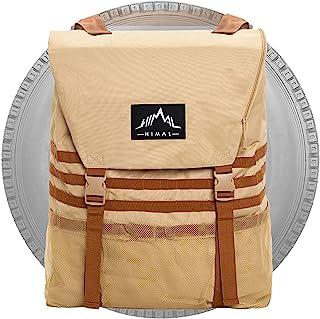 Himal Outdoors 备用轮胎垃圾袋,备用轮胎存储袋,SUV 行李箱收纳袋,适用于户外越野恢复装备,卡其色