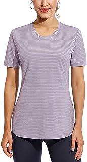 Promover 女式锻炼瑜伽运动健身衬衫背部工字背心上衣