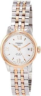 Tissot Le Locle 银色表盘不锈钢女士手表 T41218333