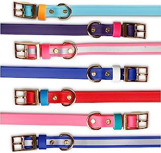 反光狗项圈 – 我们的粉色反光 Biothane 狗项圈确保您的女孩在黑暗中脱颖而出。 – 这些防水狗项圈易于清洁和无序