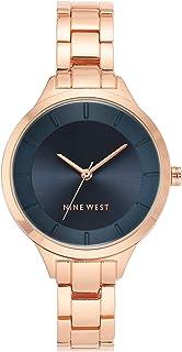 Nine West 正装手表(型号:NW/2224NVRG)