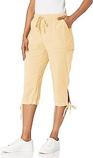 Erika 女士 Carcie 高腰套头大口袋七分裤