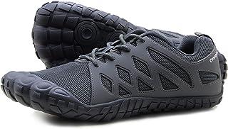 Oranginer 男式赤脚鞋 – 大脚趾盒 – 极简交叉训练鞋 男式 3-gray 12
