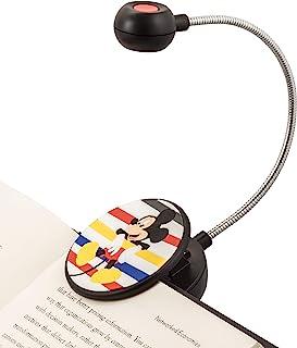 WITHit 迪士尼夹式书灯 �C 米奇 �C LED 阅读灯 减少眩光 便携 轻质书签灯 适用于儿童和成人,含电池