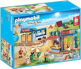 PLAYMOBIL 摩比世界 Family Fun 大型露营地拼插玩具 70087,适合4岁以上儿童