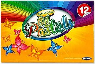Premier Stationery 86085 World of Color 油蜡笔 12 支