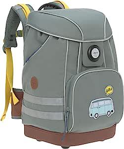 LÄSSIG 书包小学背包带搭扣,反光设计防雨小学 6 岁以上儿童/学校包冒险 * 40 cm
