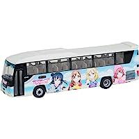 公交收藏 巴士收藏 富士急城市 LoveLive! Sunshine!! 包装巴士 立体模具 (厂家初回限定生产版)