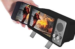 Gabba Goods 7 英寸复古电视视频蓝牙扬声器和放大镜带支架