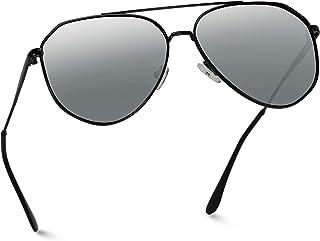 WearMe Pro - 偏光经典设计师灵感中号金属框架飞行员太阳镜