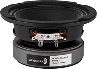 Dayton Audio PA130-8 PA系列 13厘米 碎纸锥全频 专业用 8Ω