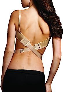 Maidenform 女士宽低背转换器 1 英寸(25 毫米)文胸延伸器