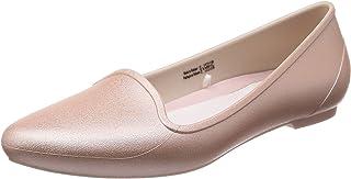 Crocs 卡骆驰平底鞋 Eve 金属平底女鞋205156