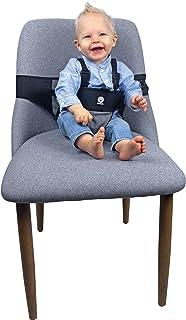 原装 Dooky 旅行椅 – 婴儿旅行高脚椅 *带 适用于旅行 – 年龄组:6 – 36 个月,适用于几乎任何椅子,小巧轻便,100%聚酯,黑色