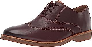 Clarks Atticus Vibe 男士牛津布皮鞋