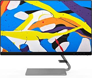 Lenovo 联想 Q24i-10 60.45厘米(23.8英寸),1920x1080,全高清,75Hz,IPS,哑光)显示器(VGA,HDMI,4毫秒响应时间,AMD FreeSync)黑色