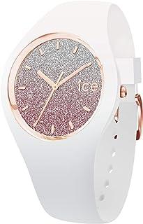 Ice-Watch - ICE lo 白色粉色 - 女式手表带硅胶表带