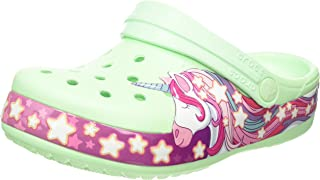 Crocs 卡骆驰中性款儿童 Funlab 独角兽乐队洞洞鞋